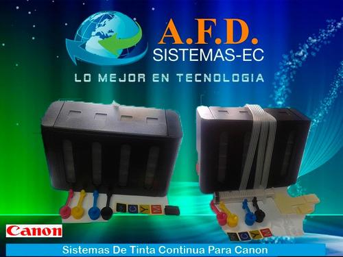 sistema tinta continua tipo original compatible varios model