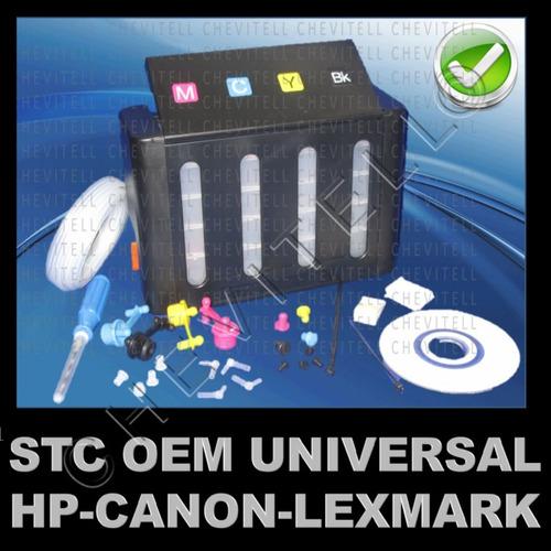 sistema tinta continuo lujo impresora cartucho hp canon