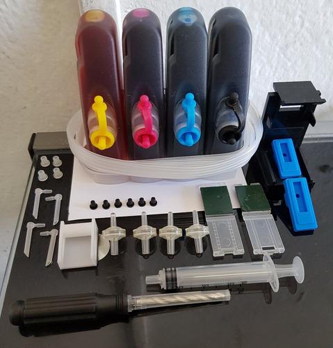 sistema tinta para hp deskjet advantage 2515 y 3515 hp 662