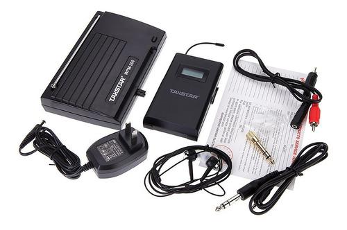 sistema transmisor audio inalambrico uhf wpm-200 24pcs/ctn