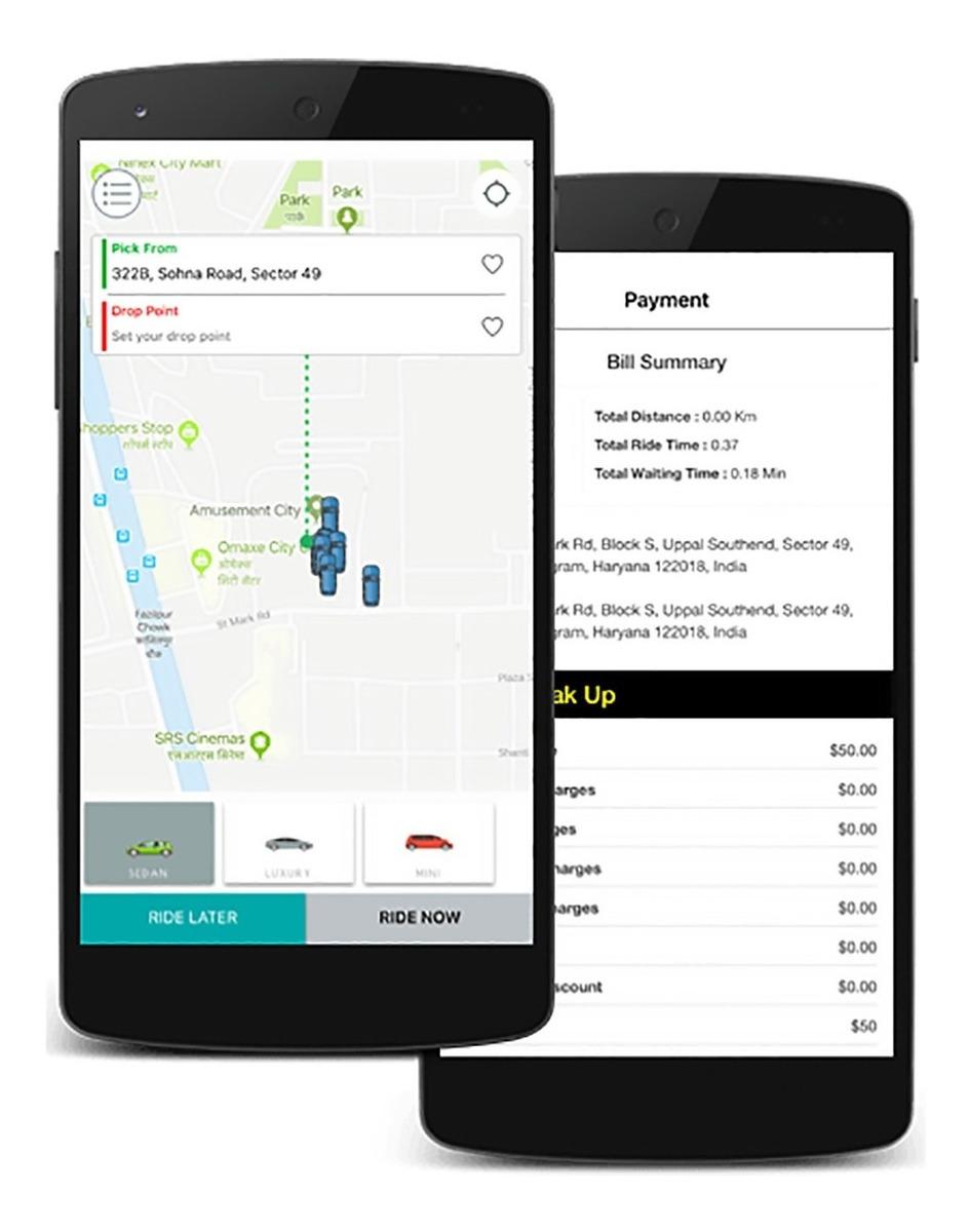 Sistema Uber Clone Web(app Para Taxis Y Remis) Android Y Ios