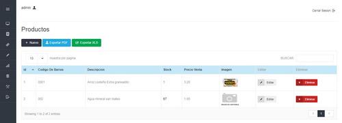 sistema ventas compras, php ,configurable + codigo fuente