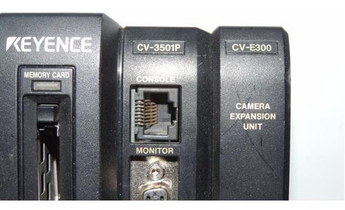 Sistema Visión Keyence Cv3501p Incluye Modulo Cv-e300 - $ 20,389 00