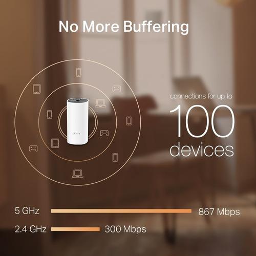 sistema wi-fi mesh para la casa ac1200 deco m4 hasta 260m2