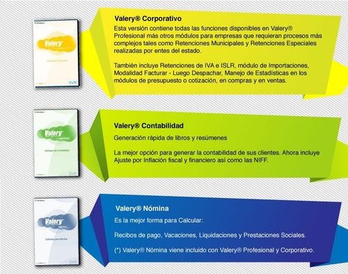 sistemas administrativos - valery software - soporte técnico