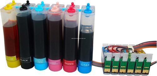 sistemas continuos de tintas para r-270/290 epson