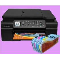 Cartuchos Recargables Para Impresora Brother Mfc J470 Wifi