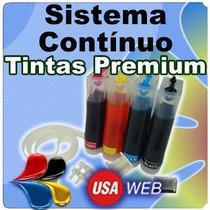Sistema Continuo Epson De Lujo Instalado Xp201-xp211-xp401