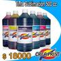 Tinta Sublimacion Marca Creaprint 500ml Para Epson Y Brother