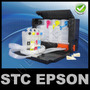 Sistema Recarga Tinta Continua Tanques De Lujo Oem Impresora
