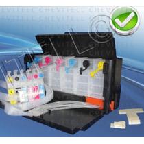Sistema Tinta Continua Lujo Impresoras Epson Tx Cx Wf Xp Nx
