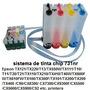 Sistema De Tinta Para Epson Tx105, Tx115 + Tintas