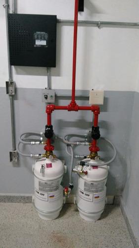 sistemas de detección y extinción de incendios