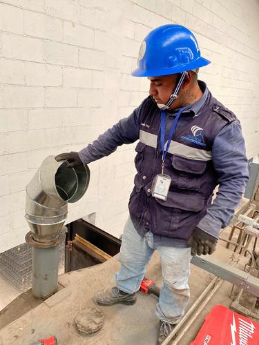 sistemas de extracción de humos y calor