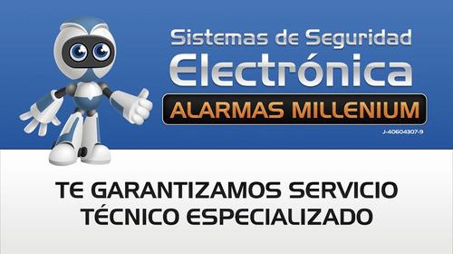 sistemas de seguridad electrónica alarmas millenium, c.a.