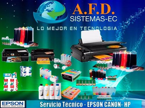 sistemas de tinta continua para canon