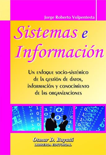 sistemas e información jorge r. volpentesta