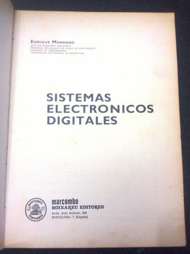 sistemas electrónicos digitales/ enrique mandado