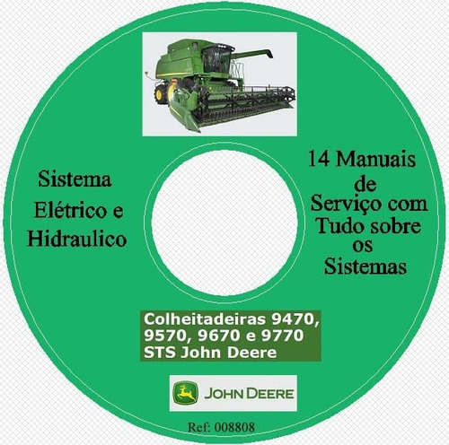 sistemas elétricos e hidraulicos das colheitadeiras, 9470,