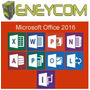 Microsoft Office 2016 Pro Plus - Licencia Original 3 Pc