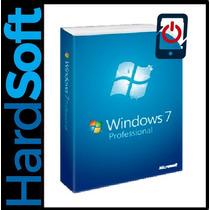 Licencia Windows 7 Profesional 32/64 Bit Original 100%