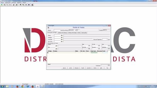 sistemas para distribuidora com fontes em delphi