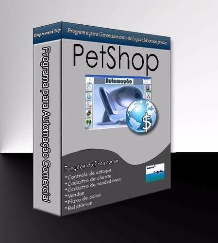 sistemas programa para pet shop e casa de rações erp pdv