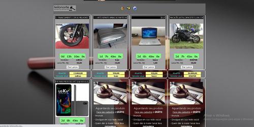site de leilão para todos tipos de produto