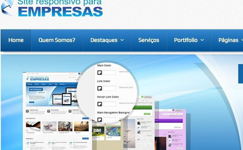 site em php para empresas - script em php com administrador