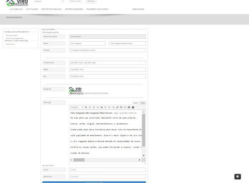 site imobiliária wordpress responsivo em português.