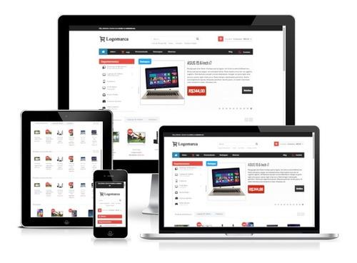site loja virtual responsiva integrada com correio pagseguro