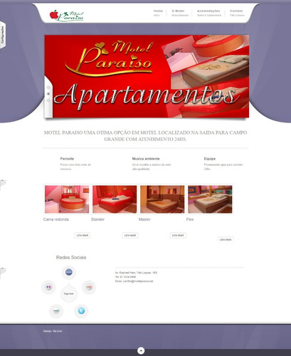 site php motel ou hotel