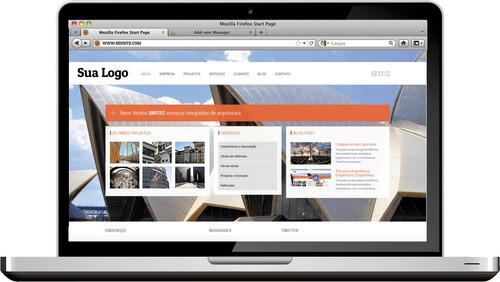 site profissional para empreiteira - instalação grátis