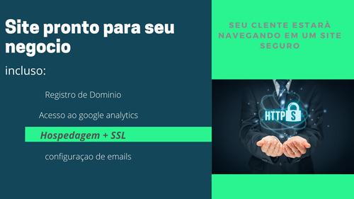 site pronto para empresas de serviços