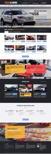 site script php revenda de veículos automóveis agência carro