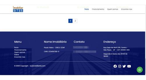 sites gerenciáveis para corretores de imóveis e imobiliárias