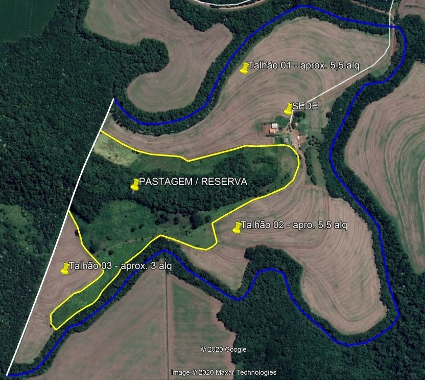 sitio 25 alq 18 km de cascavel