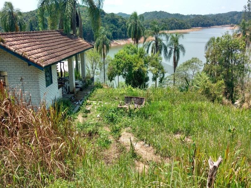 sítio á venda em juquitiba, sítio as margens da represa - 442 - 34680012