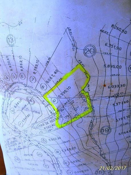 sitio barroca funda  km 55  5.995 m2 por 600 mil