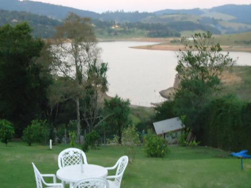sítio / chácara a venda na represa - pé na água   ch-105