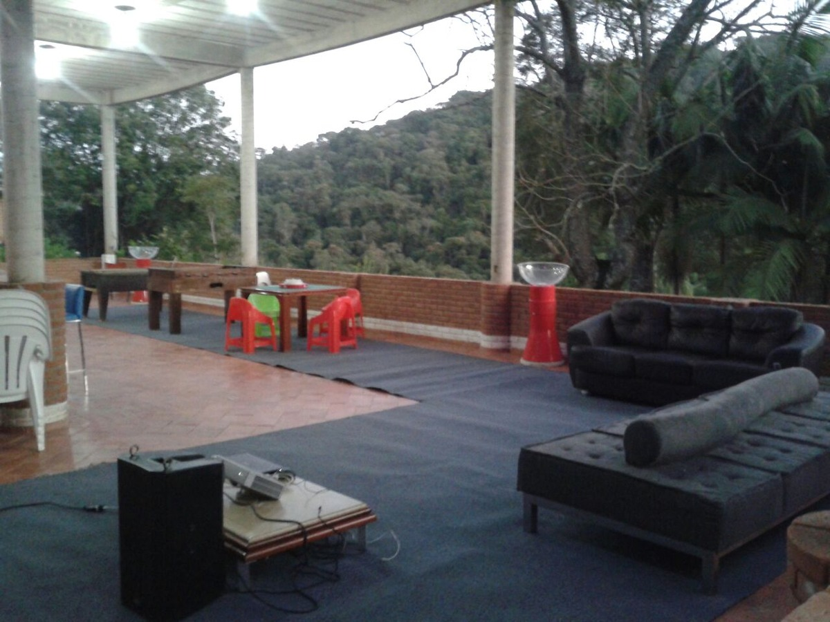 sitio / chácara aluguel lazer temporada piscina - suzano