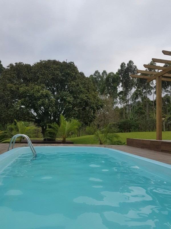 sitio chacara  com lago e piscina camboriu. bem localizado - t100 - 3285715