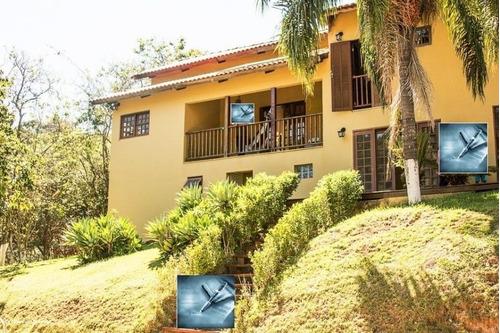 sítio / chácara para venda em bragança paulista, com lago natural e 5 baias, 5 dormitórios, 2 suítes, 6 banheiros, 10 vagas - 3042