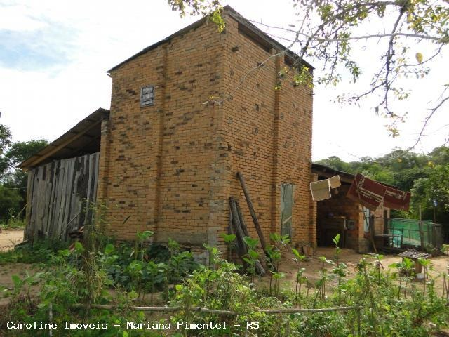 sítio / chácara para venda em mariana pimentel, linha alves - mariana pimentel, 2 dormitórios, 1 banheiro - 1015_1-294203