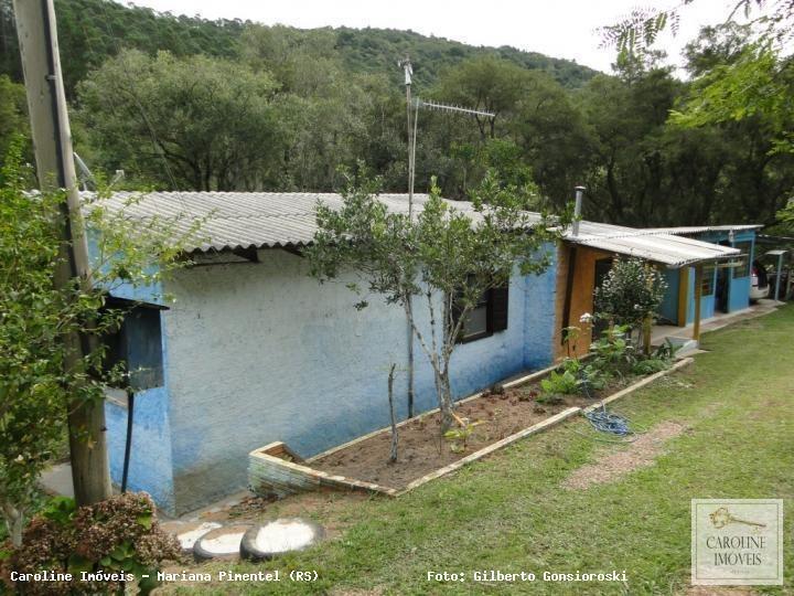 sítio / chácara para venda em mariana pimentel, linha arroio grande, 2 dormitórios - 1152_1-778180