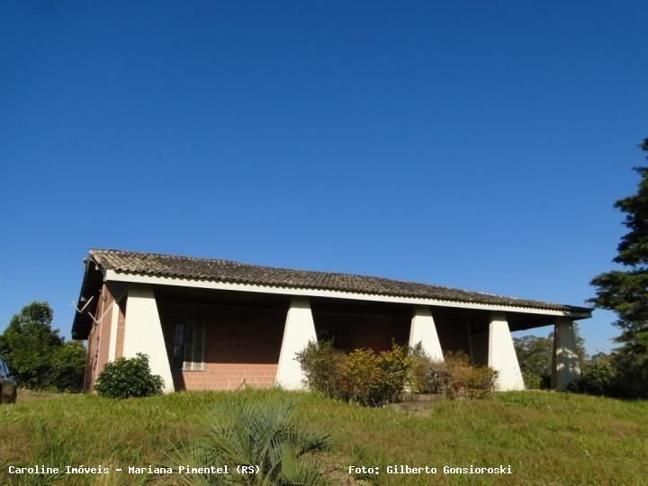 sítio / chácara para venda em mariana pimentel, linha dr. flores, 2 dormitórios, 2 suítes, 2 banheiros, 1 vaga - 1141_1-693116