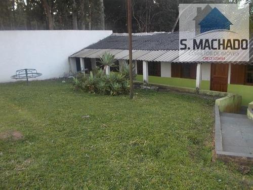 sítio / chácara para venda em suzano, estância tijuco preto, 3 dormitórios, 1 suíte, 2 banheiros, 10 vagas - ve0831