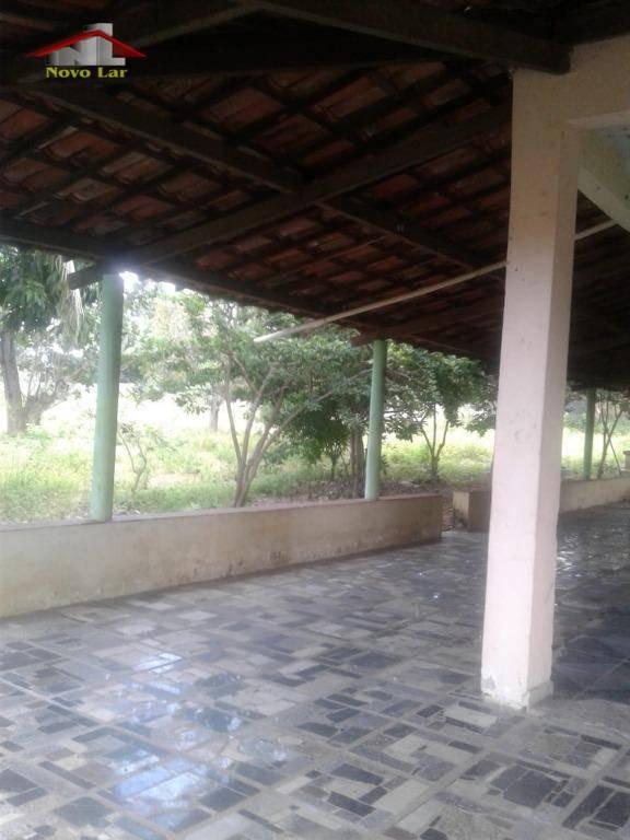 sítio com 2 dormitórios para alugar, 5000 m² por r$ 2.800/mês - jaçanaú - maracanaú/ce - si0003