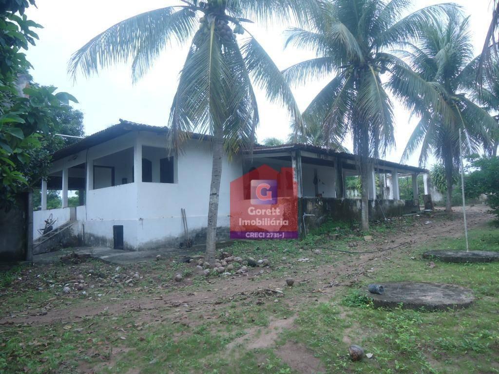 sítio com 3 dormitórios à venda, 1600 m² por r$ 280.000 - loteamento jardim arvoredo - são gonçalo do amarante/rn v0782 - si0005