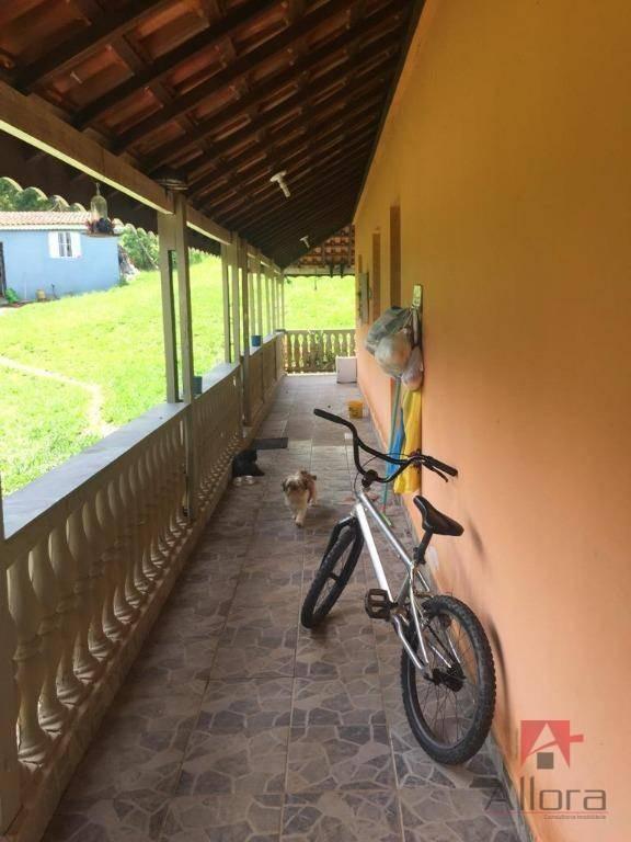 sítio com 3 dormitórios à venda, 42850 m² por r$ 1.300.000 - campo novo - bragança paulista/sp - si0034